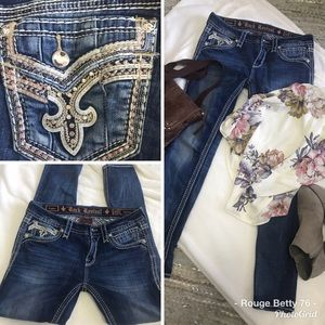 Rock Revival Codee Skinny Jeans 30 x 31